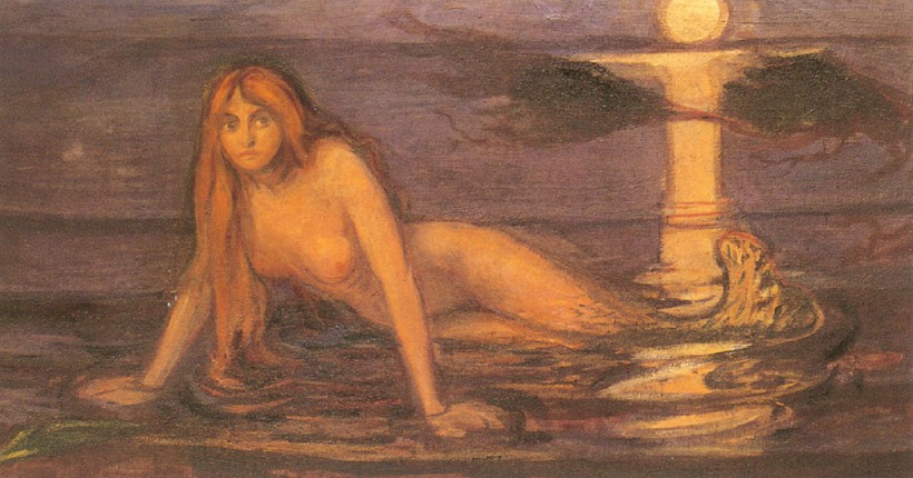 Image result for edvard munch woman from the sea
