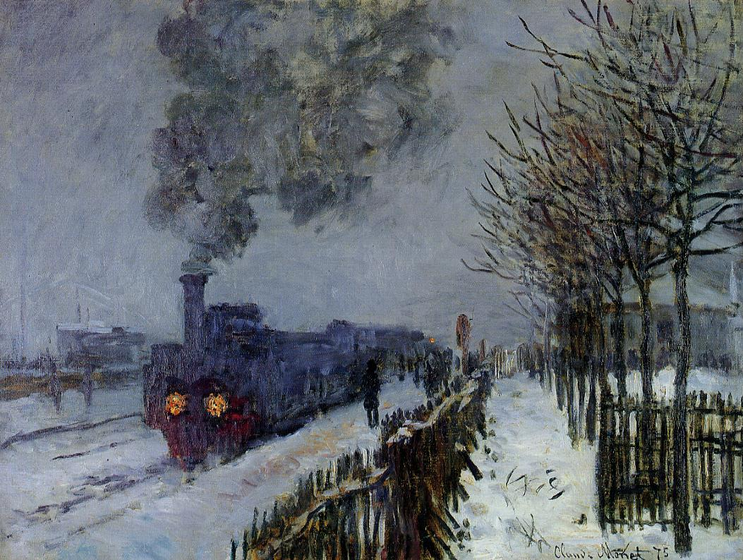 monet-train-in-winter